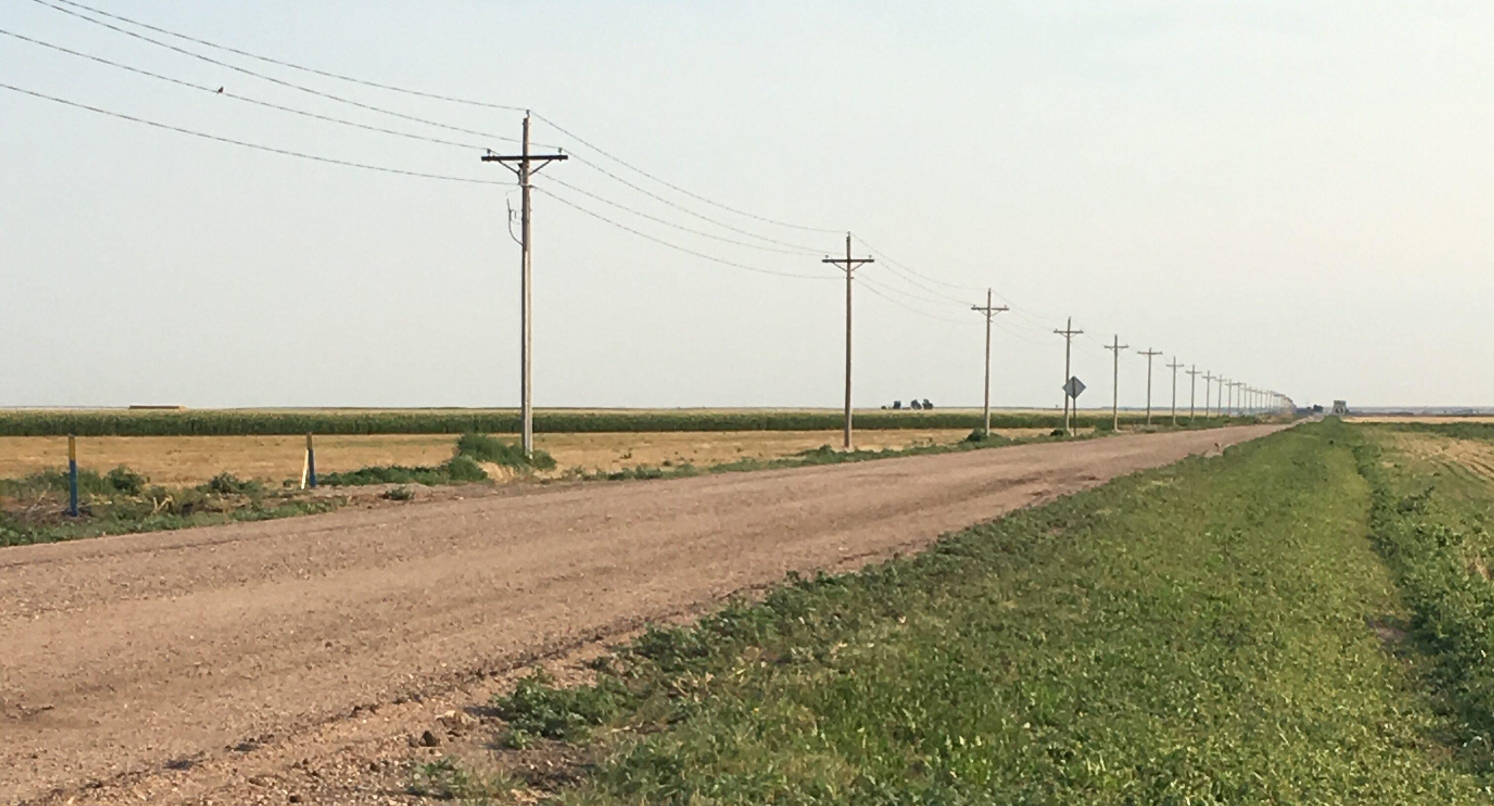 Rural Southwestern Kansas countryside