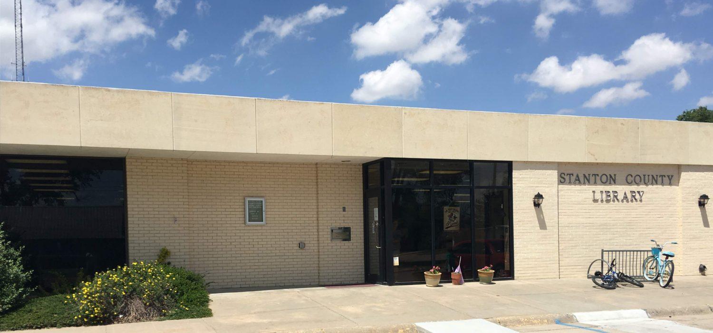 Stanton County Library in Johnson City, Kansas