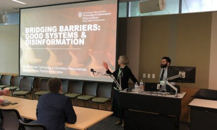TIPI Presents at Information Wars: Social Media and Politics in Russia & Eastern Europe Symposium