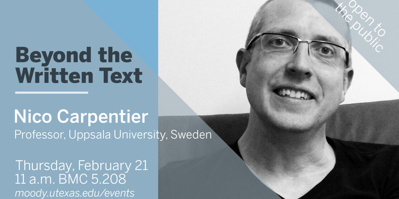 Beyond the Written Text: Visual Communication & Academic Research