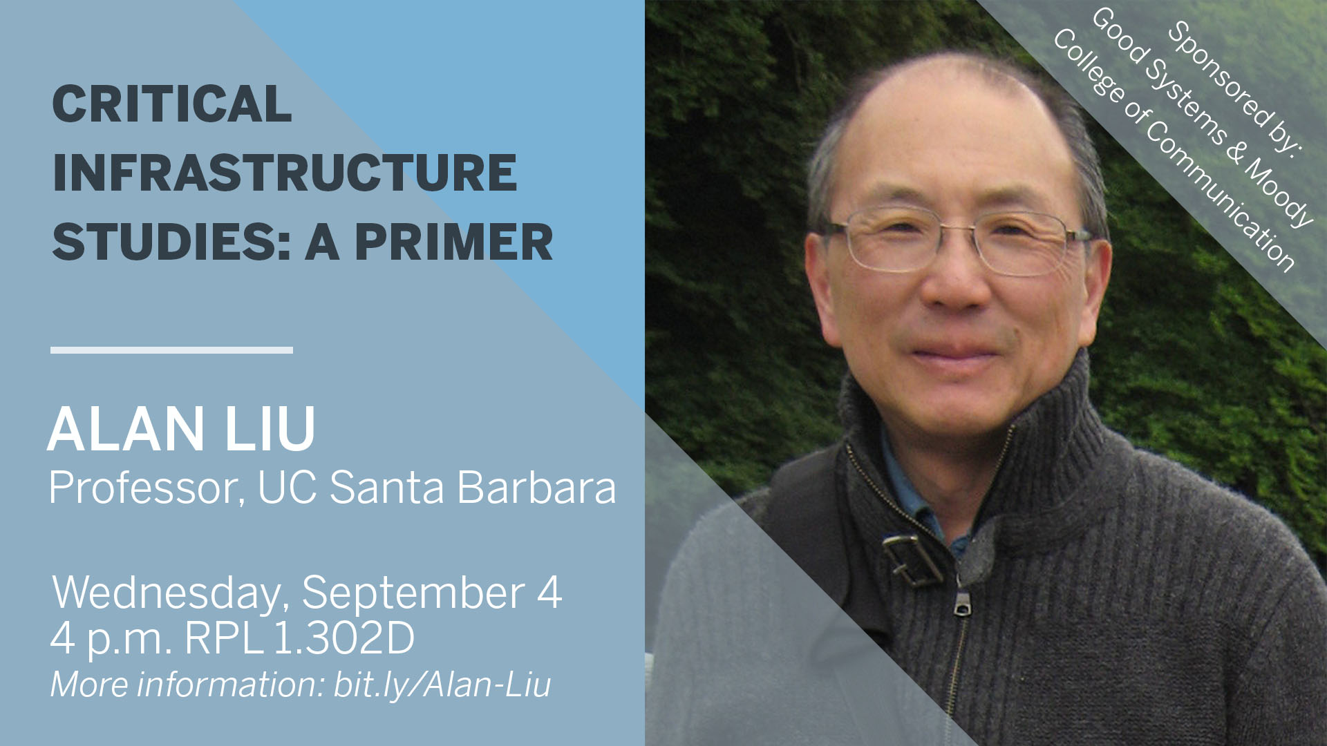 Alan Liu Speaker