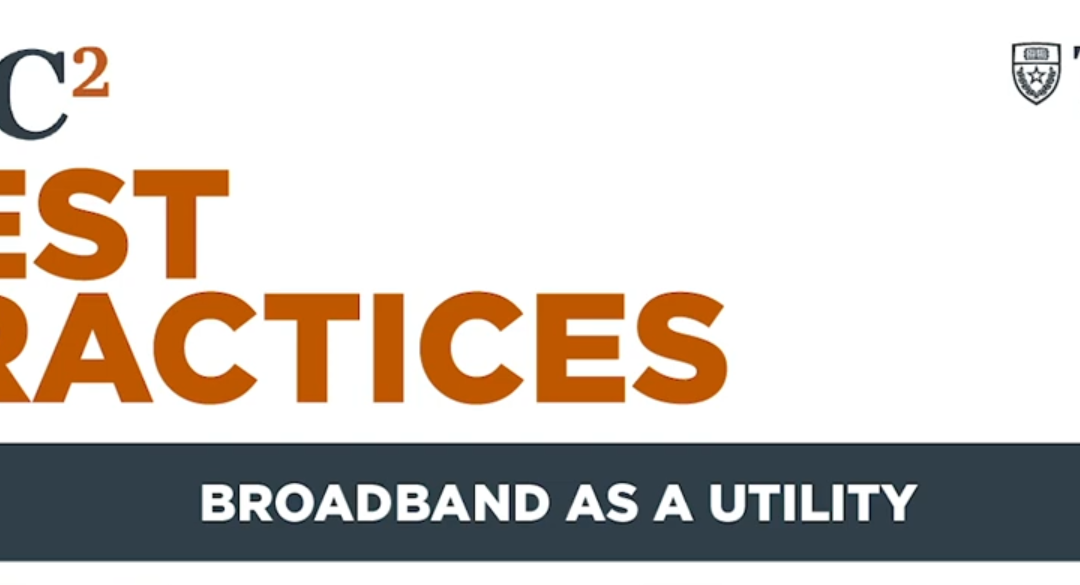 Broadband as a Utility – Roundtable Discussion